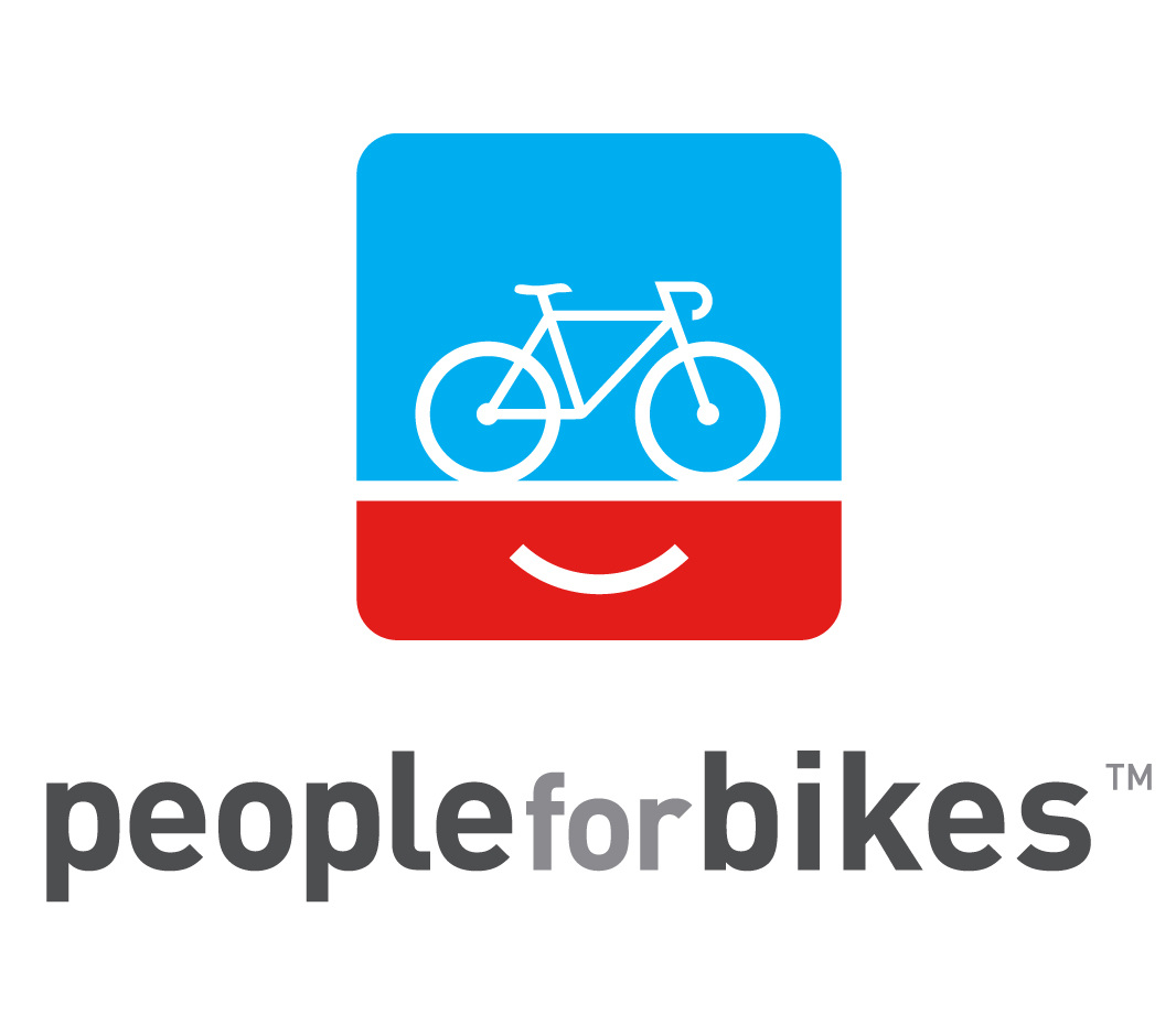 Picture of People for Bikes advocacy logo