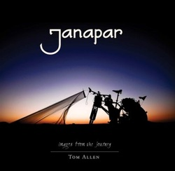 Picture of Janapar e book cover bicycle touring from Tom Allen