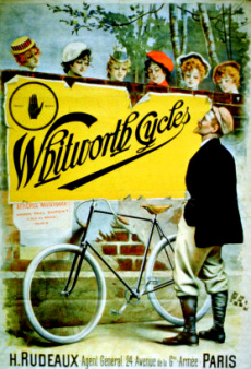Picture of antique Whtworth Cycles ad